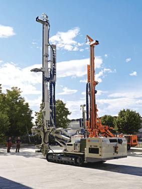 INJECTOFORAJ DRILLING TOOLS: Instalatii de foraj pentru diametre mici si medii