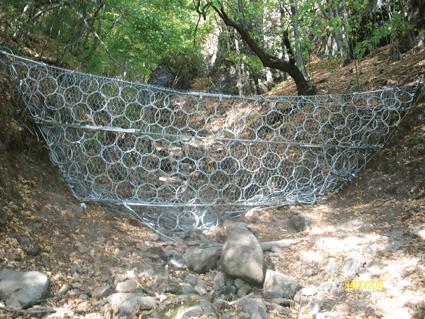 IRIDEX: Utilizarea Barierelor de Torenti la refacerea DN15