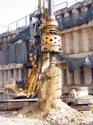 TERRATEST: Lucrari de excavare, forare si imbunatatire a terenului
