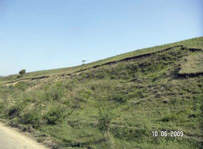 Consolidarea unei alunecari de teren