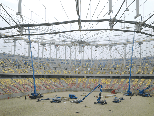 MAX BÖGL & ASTALDI: Arena Nationala – constructie complexa de nivel international (III)