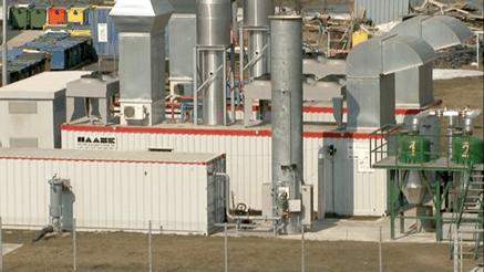 Instalatie de extragere si prelucrare biogaz, depozit Chiajna