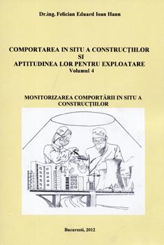 Aparitii editoriale: Cartea mea. Comportarea in situ a constructiilor si aptitudinea lor pentru exploatare