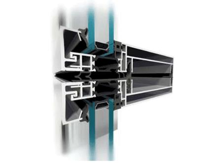 ALUPROF: Sistemul de pereti-cortina din elemente