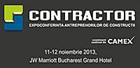 Antreprenorii din domeniul constructiilor se vor intalni la CONTRACTOR 2013