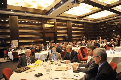 Forumul International al Patronatului Societatilor din Constructii. Constructori si dezvoltatori din 15 tari s-au intalnit la Bucuresti