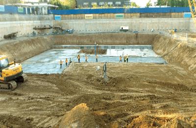 Monitorizarea unei excavatii adanci sustinute prin pereti ingropati ancorati (I)