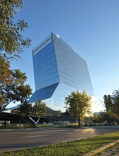 TROFEUL CALITATII ARACO: Unicredit Tower – cladire de birouri cu regim de inaltime 2s+p+14e+15 retras