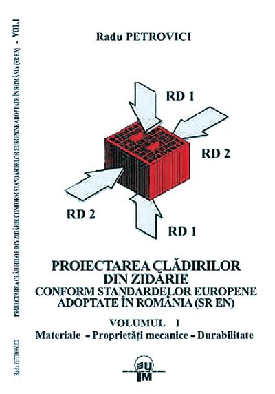 Noutati editoriale: Proiectarea cladirilor din zidarie