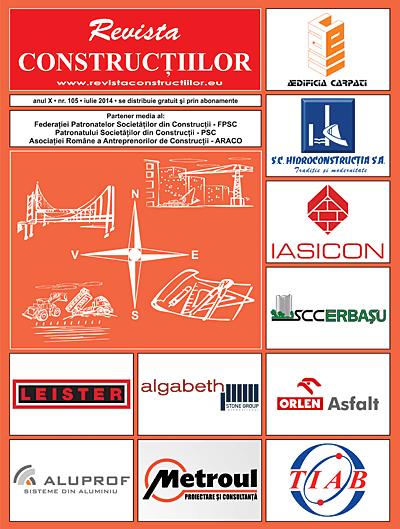 Revista Constructiilor - nr 105, iulie 2014