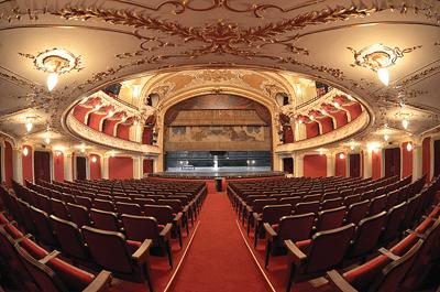 """Teatrul National """"Vasile Alecsandri"""" Iasi (IV). Restaurare, conservarea componentelor artistice si amenajari interioare"""