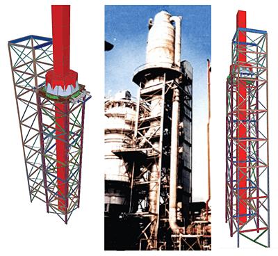 Consolidarea structurii de sustinere a Reactorului de Cracare Catalitica din cadrul Rafinariei Petrobrazi, Ploiesti