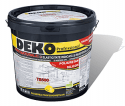 DEKO T8500 – Tencuiala decorativa  premium cu fibre naturale, poliuretan si silicon