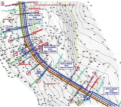 PROEXROM: Consolidarea unei alunecari de teren si coborarea panzei de apa freatica cu drenuri sifon
