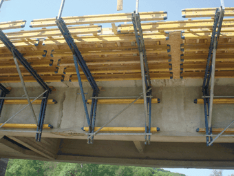 DOKA: Cofrajul pentru poduri ParaTop. Reabilitare pod existent. Pod DN2 L Km 34
