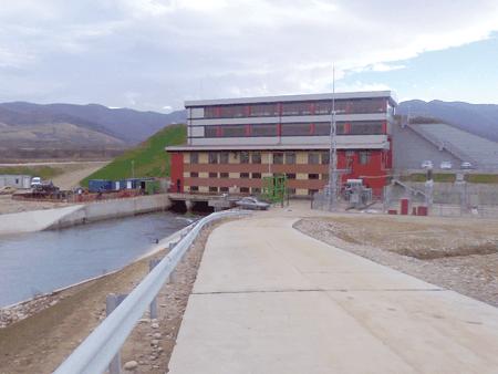 Amenajare hidroenergetica a raului Strei – CHE Plopi