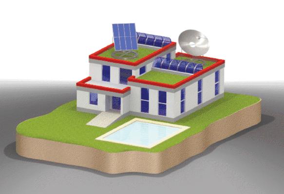 "Casa pasiva independenta energetic realizata in sistem ""Folex"""