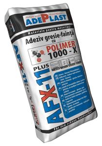 ADEPLAST: Noua generatie de adezivi pentru gresie si faianta cu POLIMER 1000-X