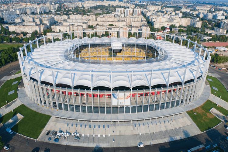 """MAX BÖGL & ASTALDI: Arena Nationala – constructie complexa de nivel international. Reabilitarea si modernizarea Stadionului National """"Lia Manoliu"""""""
