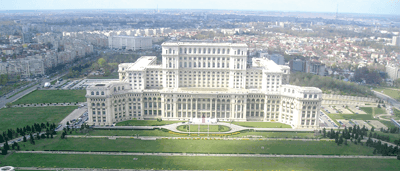 Constructori la Casa Poporului