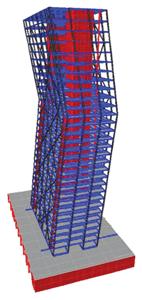 Validarea, prin incercari experimentale la scara mare, a solutiilor structurale si modelelor de calcul pentru structuri metalice