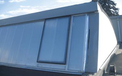 HEXADOME CONSTRUCT: Iluminatul natural si evacuarea fumului in plan vertical. Proiect de referinta – Platforma Tractorul Brasov