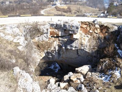Consolidarea si conservarea podului natural de la Ponoarele, din rezervatia Geoparc Mehedinti
