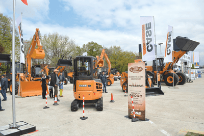 Titan Machinery Romania la Construct Expo 2014
