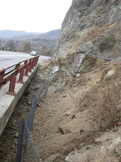 GEOBRUGG AG: Protectie versanti DN7 Km 198+000 – 226+000, Valea Oltului