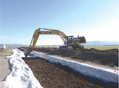 NAUE ROMANIA: Performanta relativa in exploatare a materialelor geosintetice folosite pentru stabilizarea substratului
