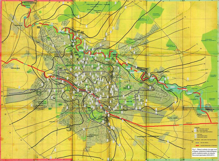 Realizarea incintelor adanci in Bucuresti si posibilele implicatii in viitor asupra apelor subterane