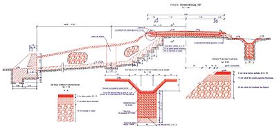 Solutii tehnice de refacere si consolidare a unei alunecari de teren pe un drum judetean