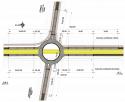 Pasaj de incrucisare cu sens giratoriu superior peste calea ferata si soseaua de centura a municipiului Bucuresti. Conceptie si alcatuire