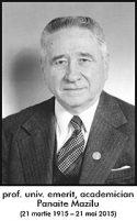 Si a fost ziua 61… O lacrima indoliata pentru cel ce a fost prof. univ. emerit, academician Panaite Mazilu (21 martie 1915 – 21 mai 2015)