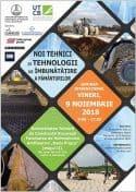 Seminarul International NOI TEHNICI SI TEHNOLOGII DE IMBUNATATIRE A PAMANTURILOR – Bucuresti, 9 noiembrie 2018